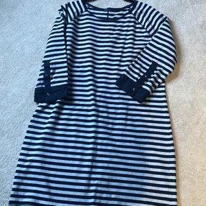 Terry fabric dress